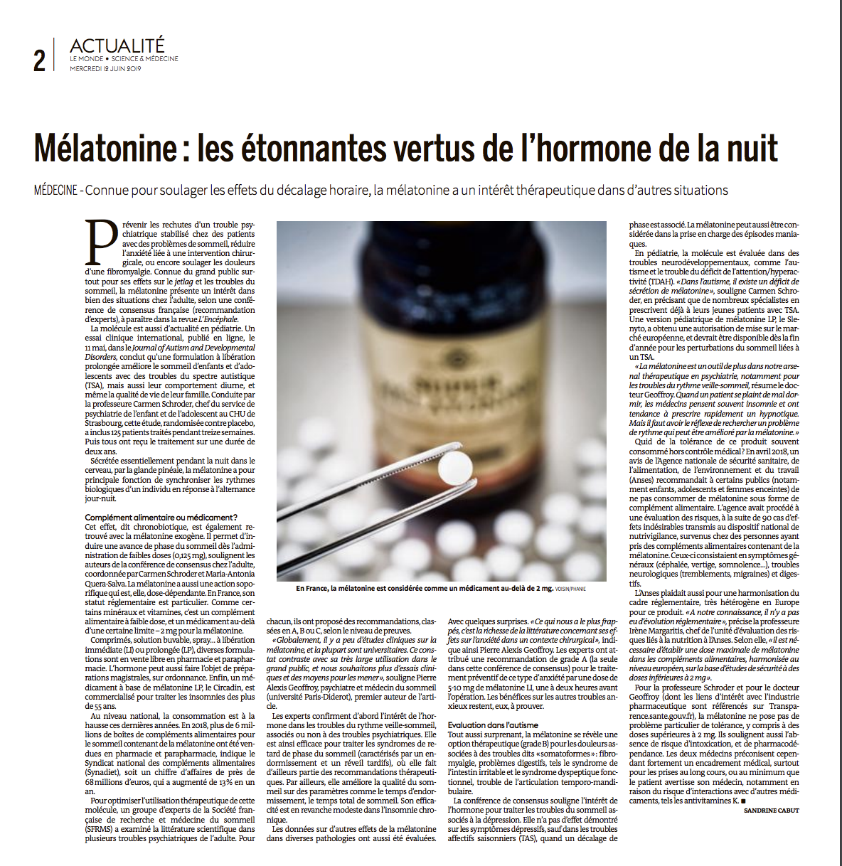 Mélatonine : les étonnantes vertus de l'hormone de la nuit